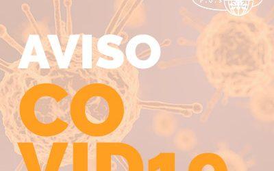 Aviso de prevención de Coronavirus Covid-19